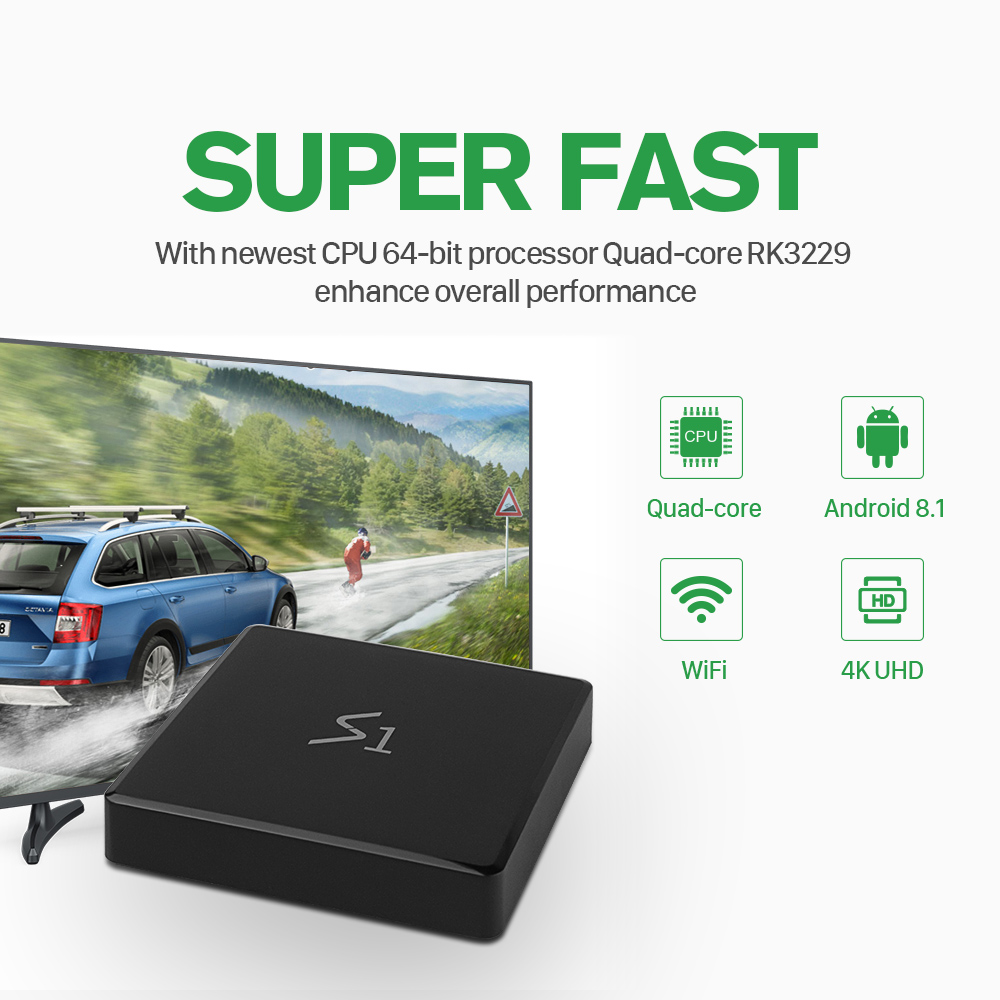 Image 3 - IPTV France Leadcool S1 TV Box Android 8.1 1GB 8GB RK3229 With 1 Year QHDTV IPTV French Arabic Italia Netherlands Subscription-in Set-top Boxes from Consumer Electronics