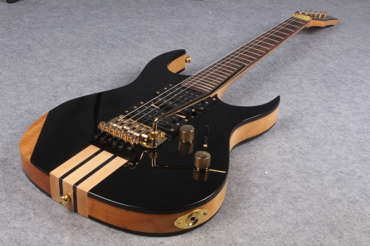 2016 6 strings rosewood body one piece set neck gold hardware electric guitar free shipping in. Black Bedroom Furniture Sets. Home Design Ideas