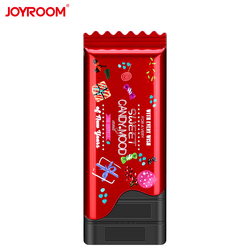 JOYROOM Lovely Candy Style Power Bank Dual USB 10000mAh Smart Quick Charge Powerbank Support Fast Charging External Battery