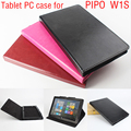 "Para 10.1 ""PIPO W1S Crazy Horse Caso Flip Ultra Fino Couro PU Tablet PC Capa + Presente"