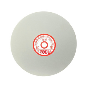 152 milímetros 6-polegada Lixar do Disco Da Roda de Moedura do Diamante Revestido Disco Colo Plana