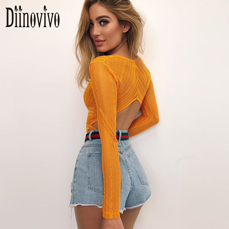 Lace Romper Long Sleeve Bodysuit Sexy Women Deep V Neck Hollow Jumpsuits Bodycon Summer Geometry Boho Beachwear Outfits SWS237
