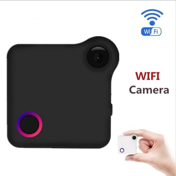 Mini caméra HD 720 P CAMSOY IP caméra Wifi Portable Mini caméra Portable sport capteur vélo corps caméra avec Clip magnétique Mini DV