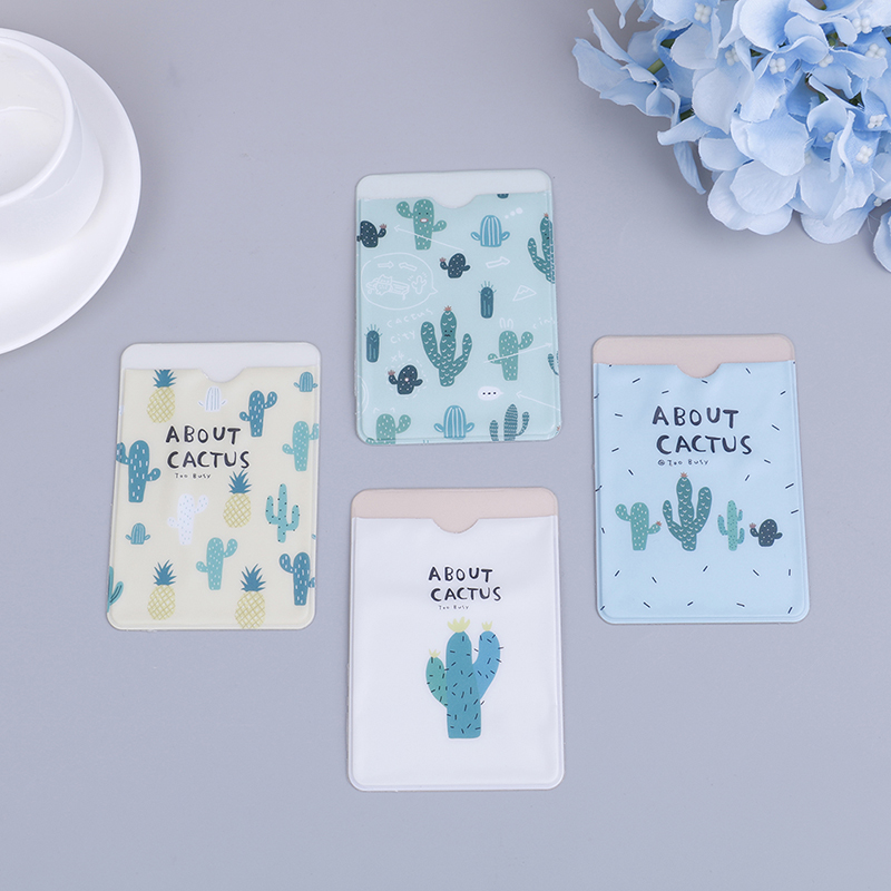 1pc Fresh Fruit Double-layer Card Note Holder Bus Business Credit Cover Case Wallet 9.6*6.6cm