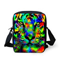 Animal Tiger 3D Print Mini School Bag for Teenage Students Children Casual Schoolbag Kids Single Shoulder Book Bag Famous Brand