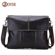 Joyir 2017 crazy horse genuine leather bags for men shoulder bag men's messenger bags vintage men's crossbody bags 3217