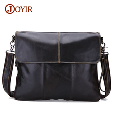 Joyir 2017 crazy horse genuine leather bags for men shoulder bag men's messenger bags vintage men's crossbody bags 3217