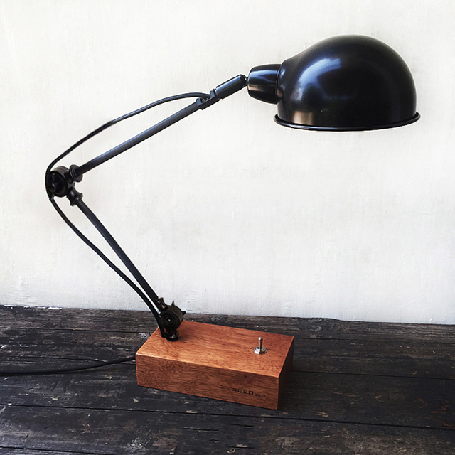 Vintage LOFT Desk Light Table Lamp With Toggle Switch. Brief Loft Reading  Lights Bedroom Lamp