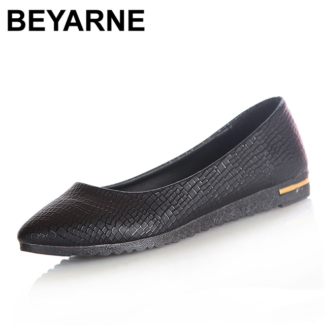 Fashion 2016 Women Shoes Slip On Womens Flats Shoes Faux Leather Womens Ballerina Flats Casual Comfort Ladies Shoes Wholesales
