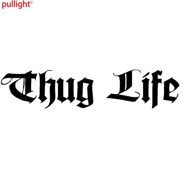 Thug life funny car window bumper jdm vinyl decal sticker colour choice