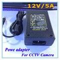 DC 12 V 5A fuente de Alimentación AC 100-240 V cargador Adaptador de Corriente DC 5.5mm x 2.1mm UE/EE.UU. Plug Para cámaras de CCTV