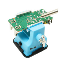 цены Original Pro'skit PD-372 Mini Vise Bench working table Craft mould Fixed Repair Tool