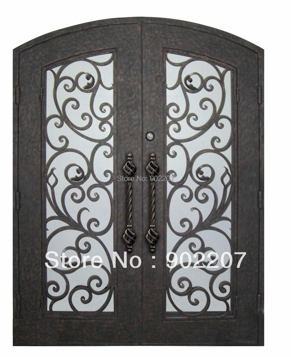 Hench 100% Steels Metal Iron Patio Entrance Doors