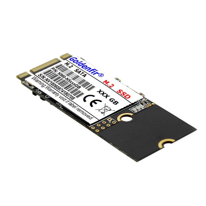 Goldenfir m.2 SSD M2 SATA 2260 120GB 240GB 500GB 512GB 960GB 60GB 64GB HDD 2260mm NGFF SSD Hard Drive for Laptop Free Shipping