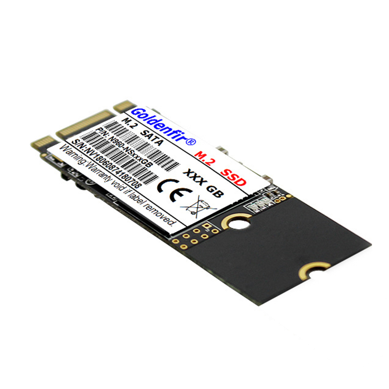 Golerfir m.2 SSD M2 SATA 2260 120GB 240GB 500GB 512GB 960GB 60GB 64GB HDD 2260mm NGFF SSD Hard Drive for Laptop Free Shipping