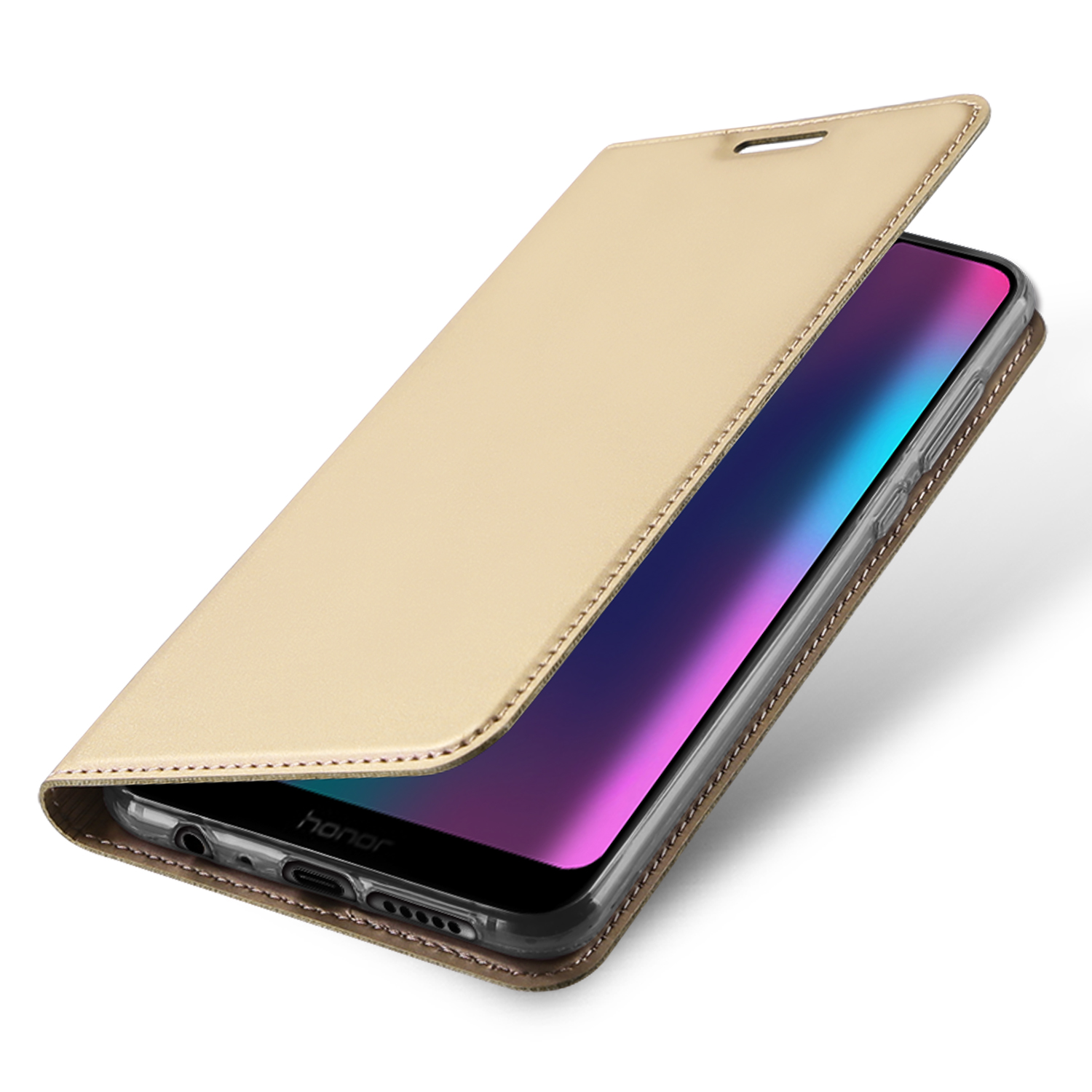 Flip Case For Huawei Honor 9N 9i PU Leather TPU Soft Bumper Protective Card Slot Holder Wallet Stand Cover Mobile Phone Bag in Flip Cases from Cellphones Telecommunications