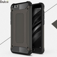 Dulcii Phone Cases for Xiaomi Mi 6 Plus Shell Fundas Coque Cool Protective Cover(PC + TPU) for Xiomi Mi 6 Plus Mobile Phone Bag