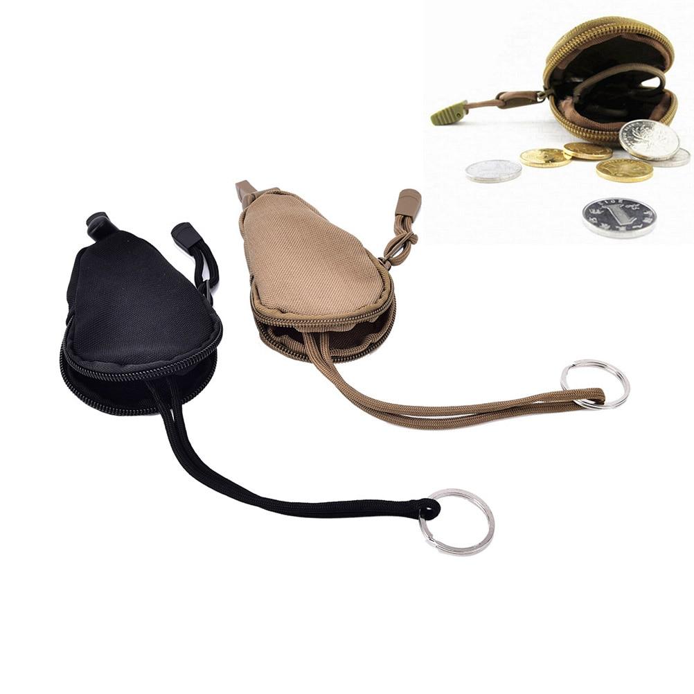 1 Stücke Mini Schlüsseltasche Unisex Geldbörse Schlüsseltasche Reißverschluss Münztüte Edc Werkzeuge Schlüsseletui Marke Hochwertigen Key Brieftaschen Moderne Techniken