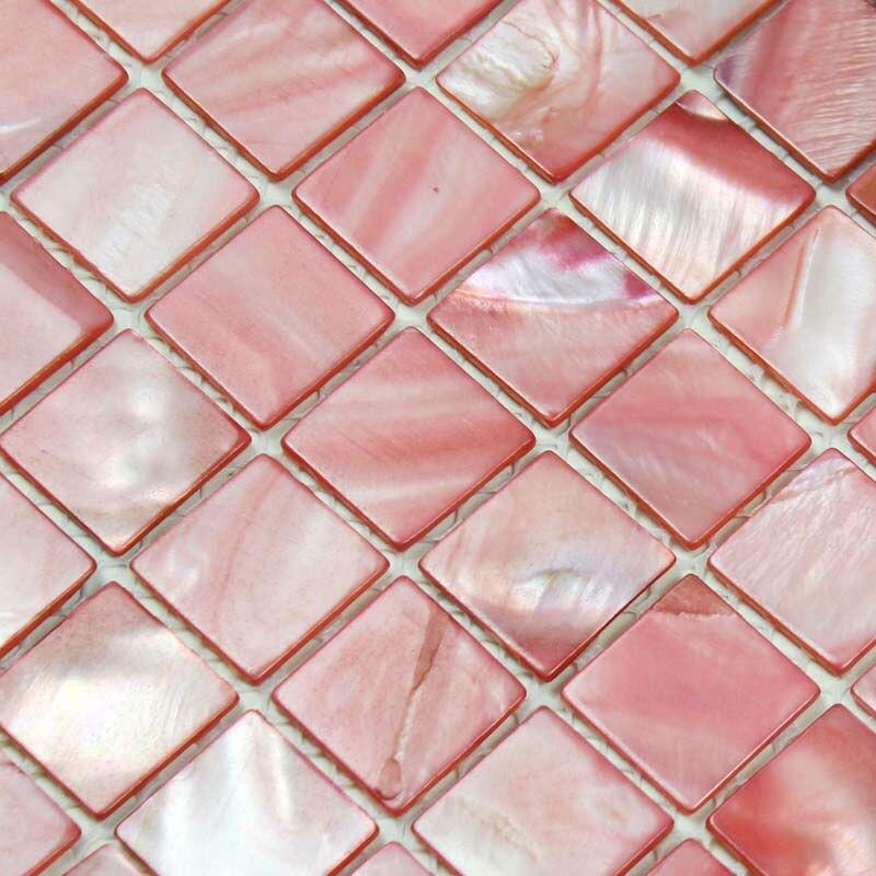 Shell Tile Backsplash Kitchen Design Bk015 Wall Stickers