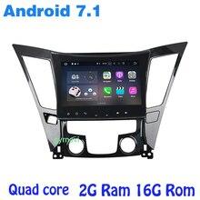 Android 7 1 Quad core Car radio gps for Hyundai SONATA 2011 2014 with wifi 4G