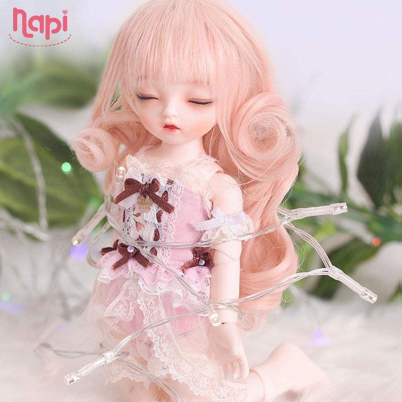 Napi Sleeping Karou BJD SD Doll 1 6 YoSD Body Model Baby Girls Boys Resin Toy