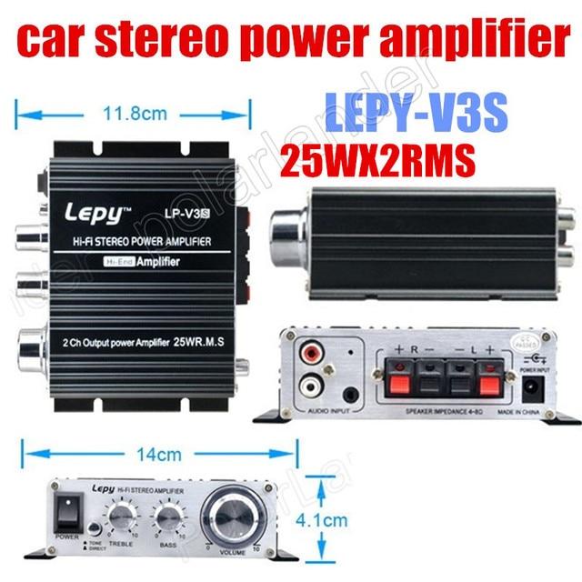 Best Price 2ch 25W X2 RMS 2ch output power amplifier 12V mini car HI-FI stereo audio digital power amplifier small power amplifier