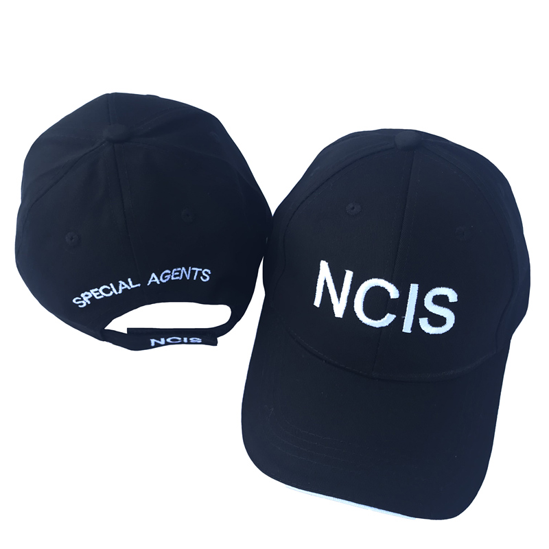 NCIS Cap Embroidery Hat Cotton Special Agents Logo Hat Naval Criminal  Investigative Service Dad Snapback Brand Hats Movie Caps-in Baseball Caps  from Apparel ... d8325574e06