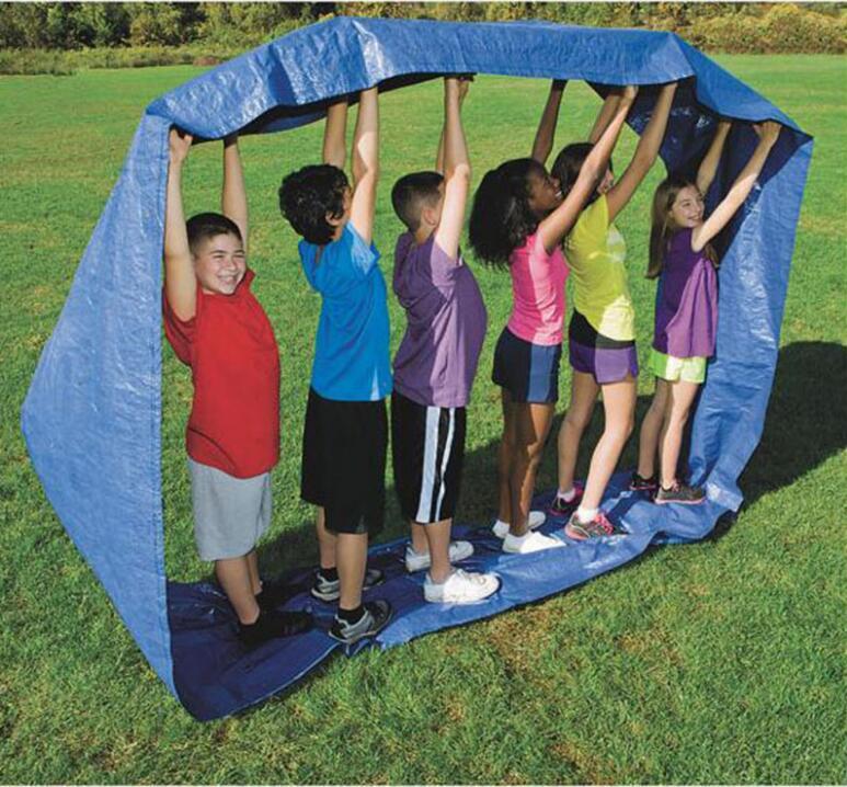 1 SET Kids Outdoor Team Cooperation Sense Training Interactive Toys For Children Educational Toys Kindergarten Sports Games