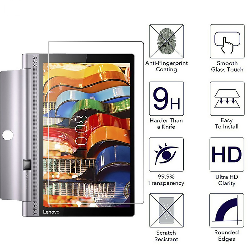 Gertong 9H Tempered Glass For Lenovo Tab 4 10 8 Plus TB-X304L TB-X304F TB-X704L TB-X704F 3 710L 850F 850M 730M Tablet Glass Film