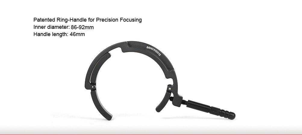 SUNWAYFOTO DRH-88 поддержка штатива быстросъемная пластина для телеобъектива поддержка фокусировочной Ручки поддержка объектива для DSLR