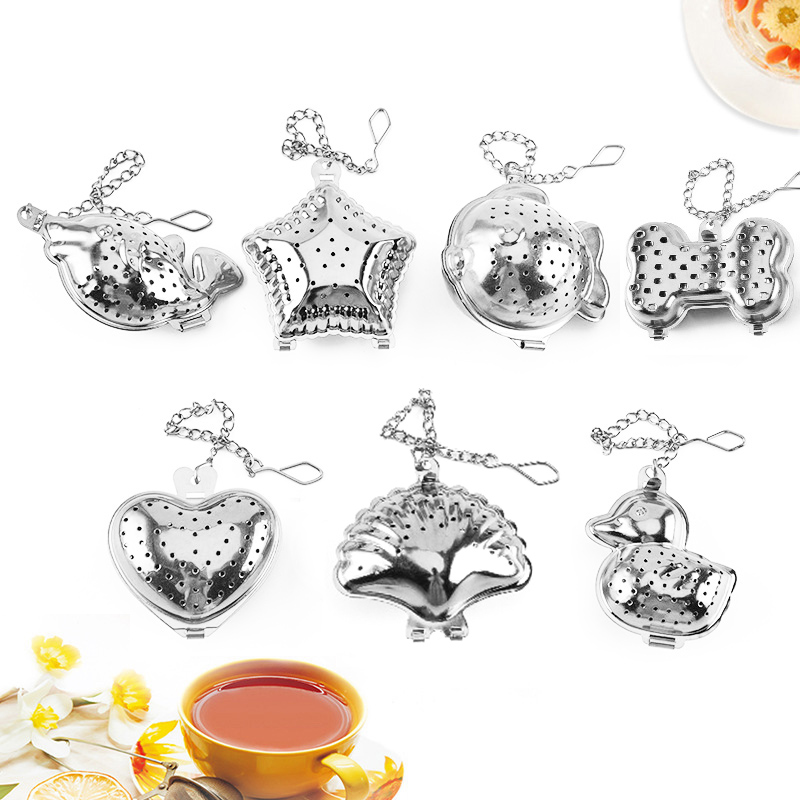 Herb 1PC Spice Filter Coffee Kitchen Gadget Tea Infuser Tea Strainer Stainless Steel Diffuser Popular High Quality Kitchen Tools