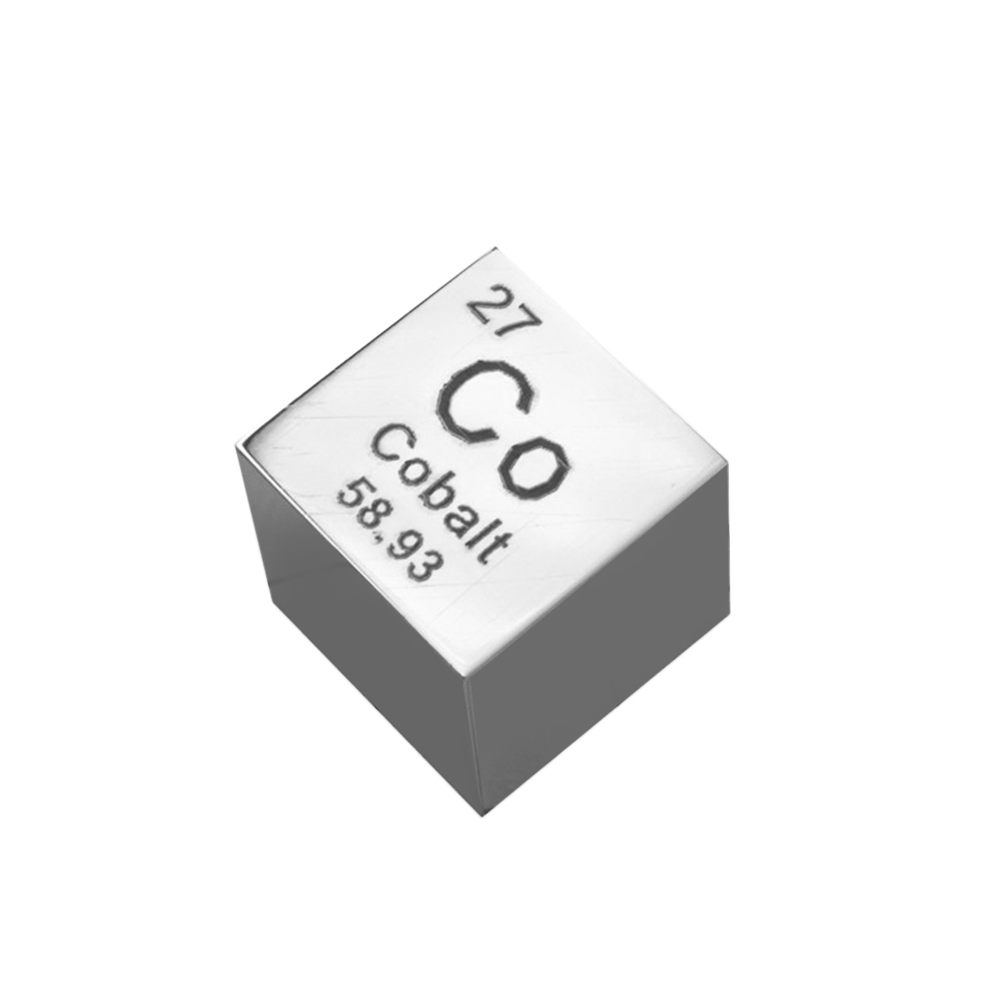 1pcs Holmium Metal Cube Periodic table of elements Ho cube 10mm 8.88g Ho≥99.9/%
