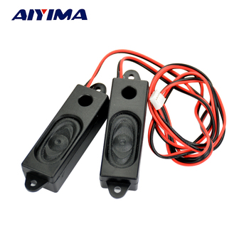 AIYIMA 2Pcs Audio Speakers LCD TV Special Speaker 1852 Advertising all-in-one speakers 1653 8 Ohm 2W 53*18 *15mm aiyima 2pcs audio portable speakers 3070 box speaker 8 ohm 5w diy mini tv computer speakers