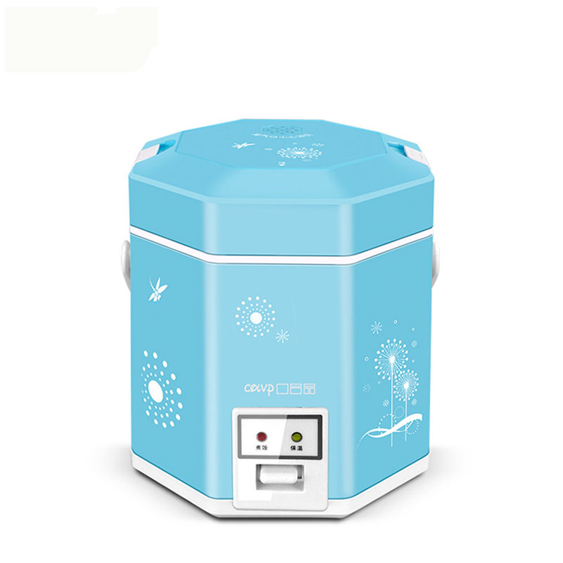 KDFB-1220A Rice Cooker Multifunctional 1.2L Rice Cooker Mini Student homeleader 7 in 1 multi use pressure cooker stainless instant pressure led pot digital electric multicooker slow rice soup fogao
