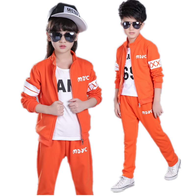 Children Clothing Sets Toddler Kids Clothes Girls Jacket Pants Suit Boys Autumn Costume Coats Spring Sport Jogging Suit H135 3pcs children clothing sets 2017 new autumn winter toddler kids boys clothes hooded t shirt jacket coat pants