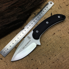 Fine 100% New Tops SGT SCORPION D2 Blade Hunting Fixed Knives G10 Handle Camping Straight Knife Tactical K Sheath