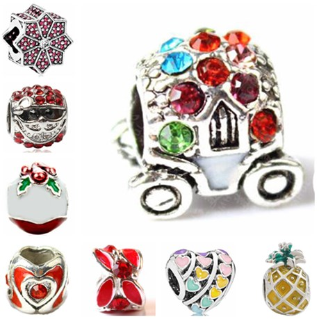 Jewelry & Accessories Punk Tibet Silver Color Small Stars Leaf Monkey Hedgehog Hearts Beads Charms Fit Pandora Bracelets Necklaces For Women Diy Gifts