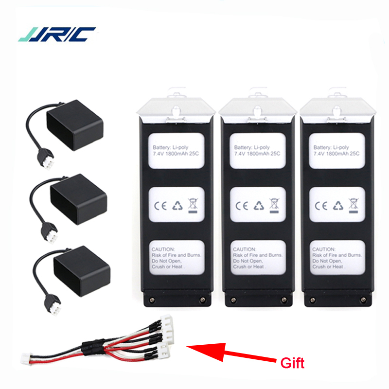 JJRC JJPRO X5 Battery 7.4V 1800Mah Li-po Battery Charger For JJRC JJPRO X5 RC Helicopter Quadcopter Drone Spare part Accessories high quaity syma x4 x11 x13 rc quadcopter 3 7v 200mah li po battery 5pcs 5 in 1 charger box