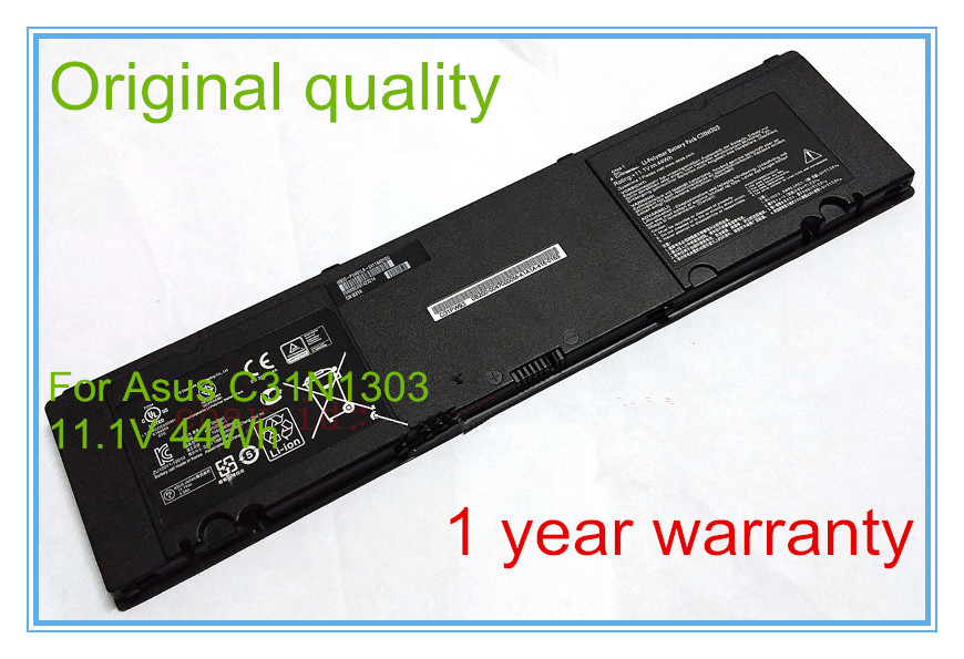 Original  Laptop Battery C31N1303 (11.1v 44wh) for  PU401 PU401L PU401LA