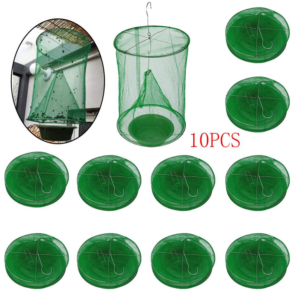 2019 New The Ultimate Red Drosophila Fly Trap Top Catcher Fly Wasp Insect Bug Killer