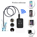 Wifi Wireless Endoscope For iOS Android Endoscope Borescope 2.0MP 9mm 1.5m Mini Micro Camera Black