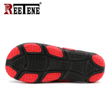 REETENE High Quality Men's Shoes For Male Slippers Plus Size 39-45 Fashion Summer Men Flip Flops Outdoor Soft Casual Shoes Men
