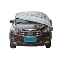 Full Car Cover SUV Protection Covers Sunshade Snow Frost Windproof Dustproof Car Cover 1 Pcs