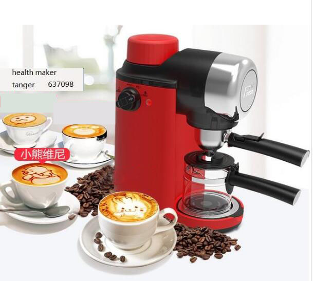Fxunshi MD-2005 Italian Coffee machine Home Semi-automatic Steam type Playing milk bubble Coffee machine DHL UPS Free shipping dhl fedex ems free shipping md 2006 italian style coffee machine household stainless steel steam type automatic coffee machine