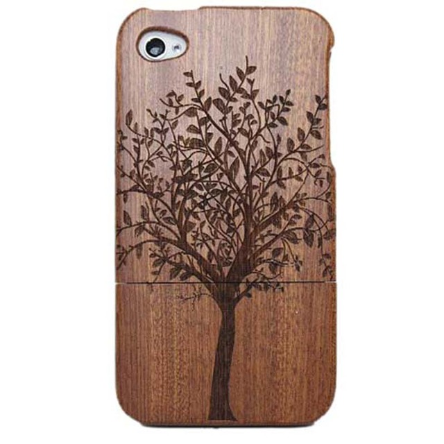 Bamboo Wood phone Case Covers For iphone 4 4G 4S 5 5s 6 6s 6plus tree/ship/owl/National flag phone shell
