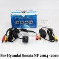Fio Ou Sem Fio Câmera de Visão Traseira Do Carro/Para Hyundai Sonata NF/Sonica 2004 ~ 2010/HD Lente Grande Angular CCD Da Câmera de Visão Noturna