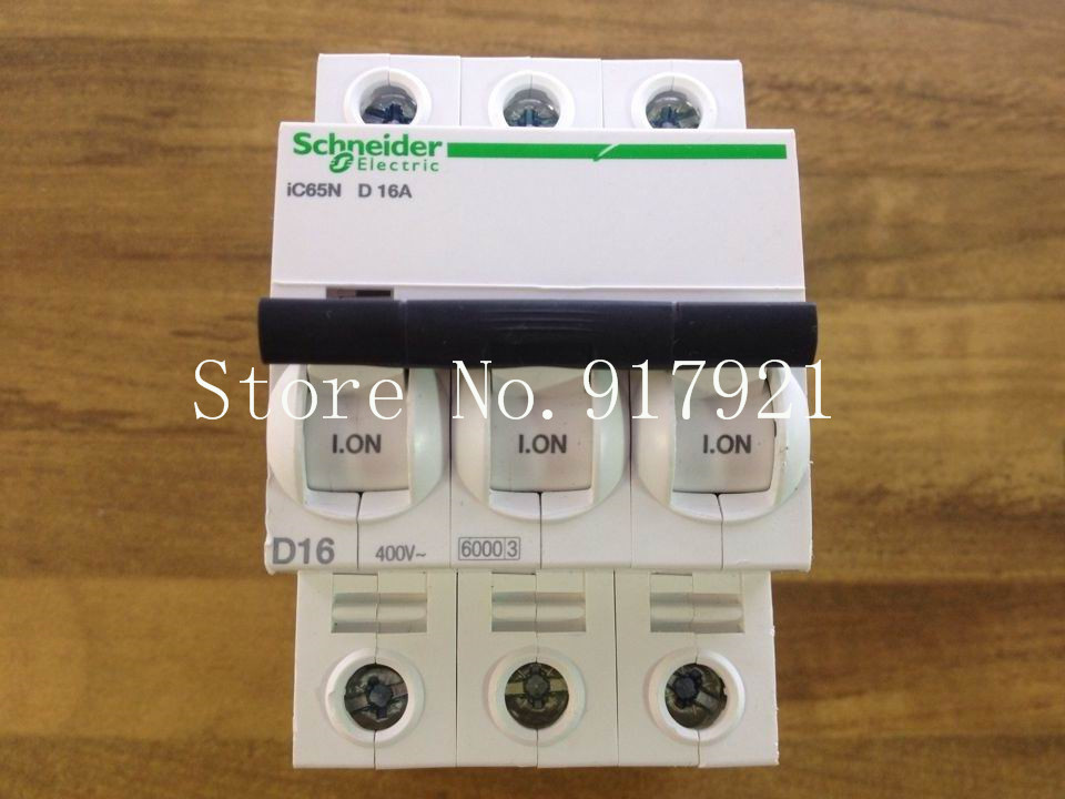 [ZOB] original iC65N D16A 3P16A D small circuit breaker 60003 genuine original --5pcs/lot [zob] muller moeller eaton l7 16 2 d breaker 2p16a d16a genuine original 5pcs lot