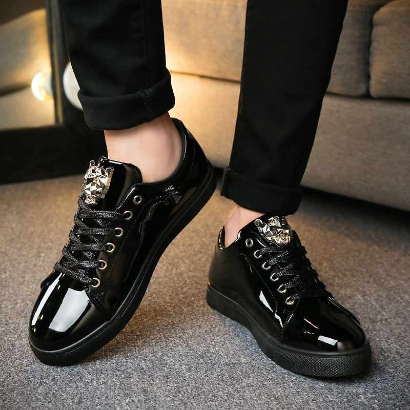 Low-Top Men Shoes Brand Designer Sneakers Men Lace-Up Casual Shoes Athletic  Tenis f0fa75fc4050