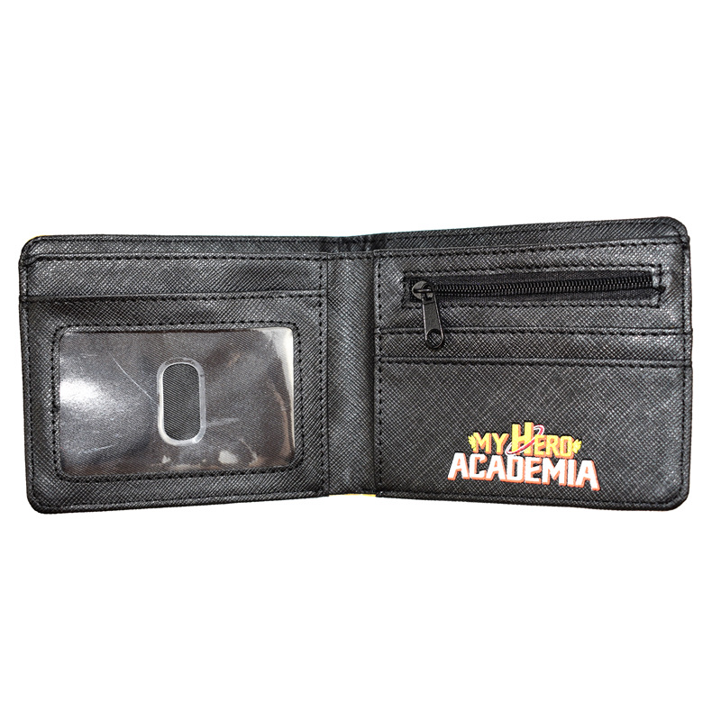FVIP Comics MY Hero Academia Wallet With Zip Coin Pocket