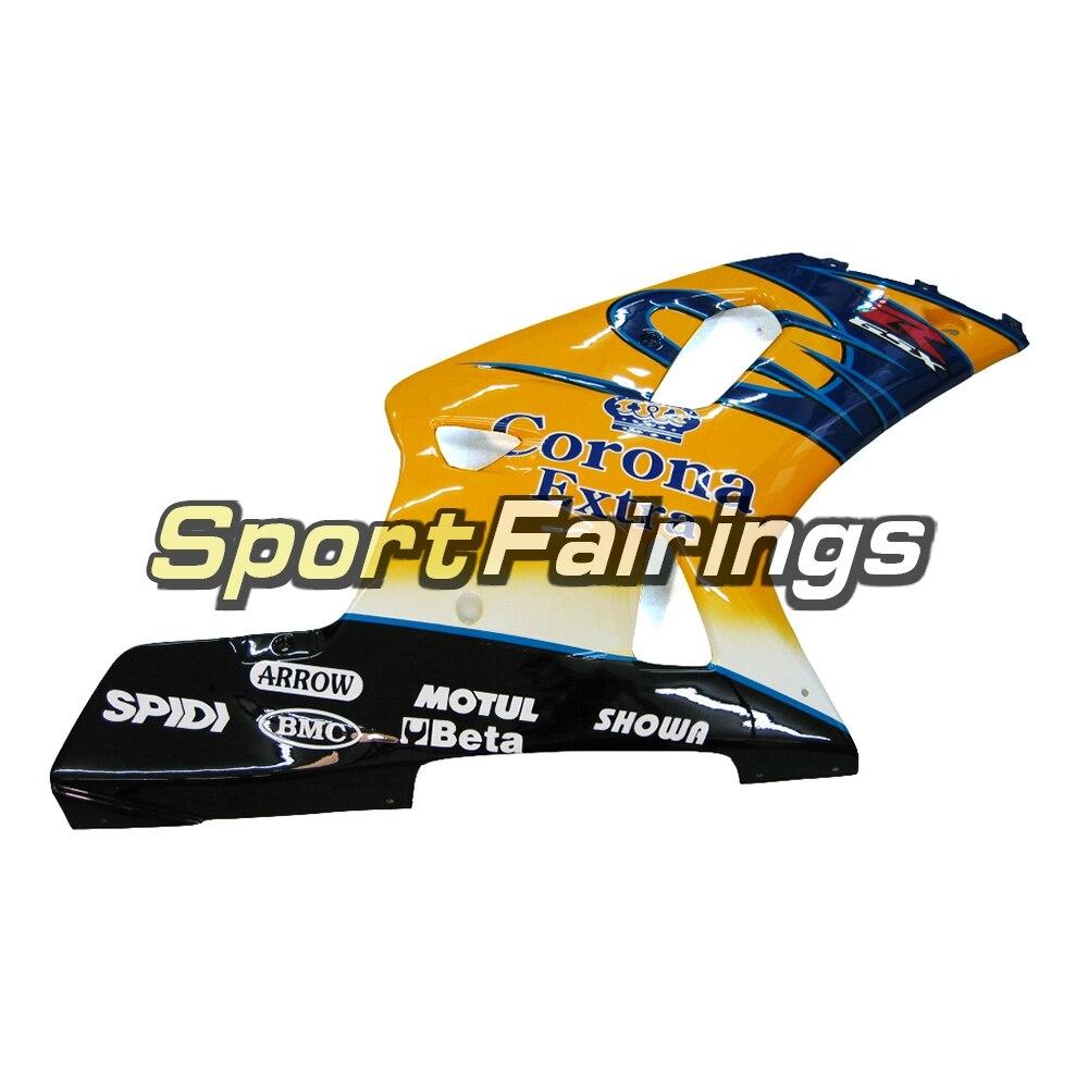 Пластик Обтекатели для Suzuki GSXR1000 K1 K2 00 01 02 2000 2001 2002 впрыска топлива мотоциклетный обтекатель abs комплект кузов цвет желтый, синий; размеры 34–43